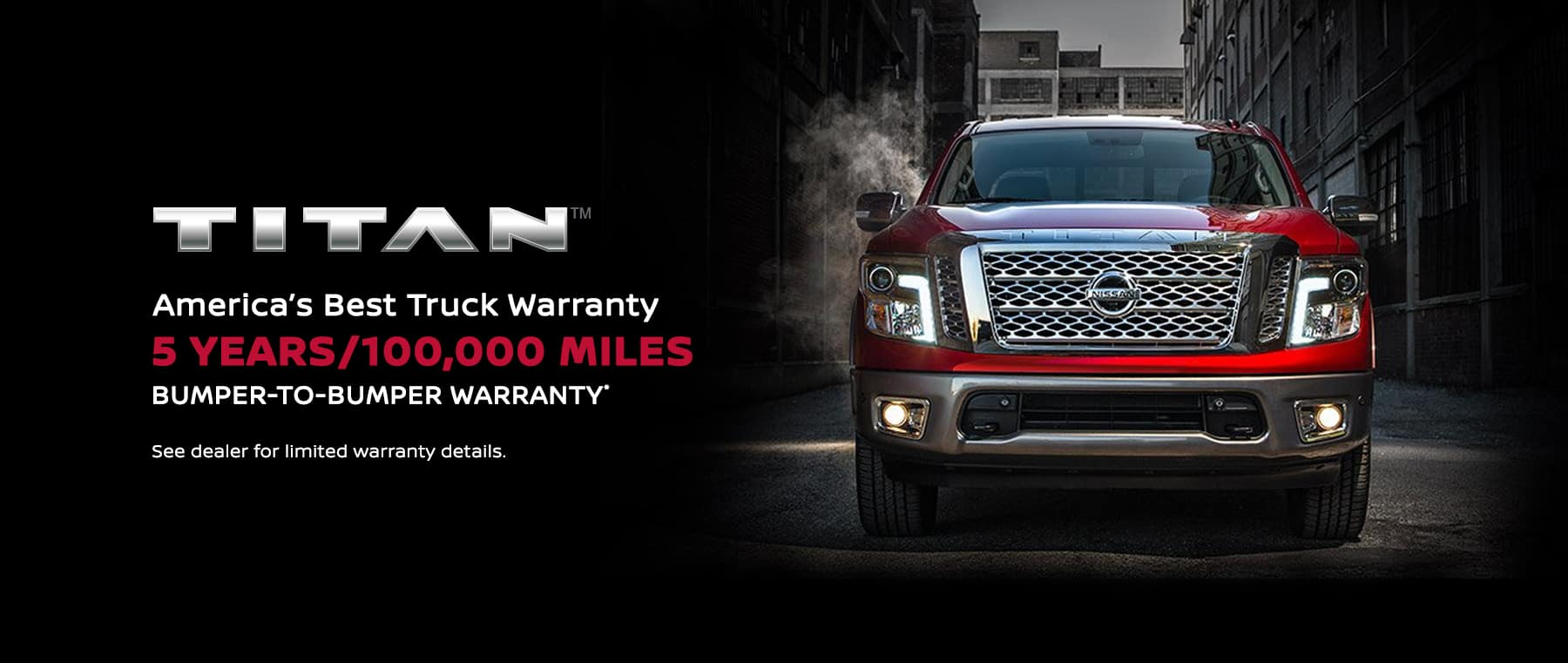 Nissan Titan Homepage Banner