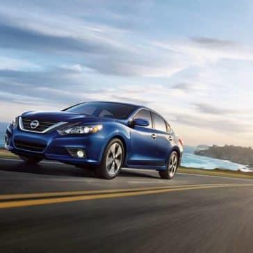 2018 Nissan Altima exterior deep pearl blue