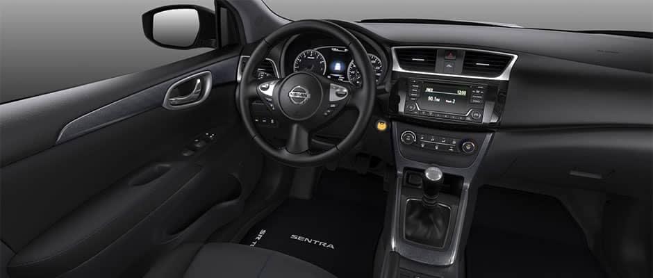 2018 Nissan Sentra Charcoal Premium Sport Cloth on SR and SR Turbo
