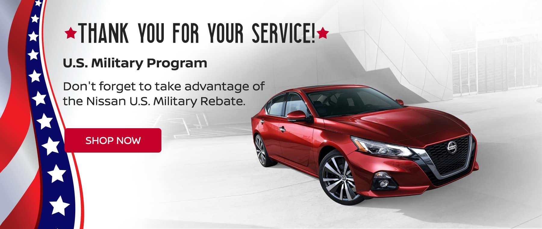 Military Rebates