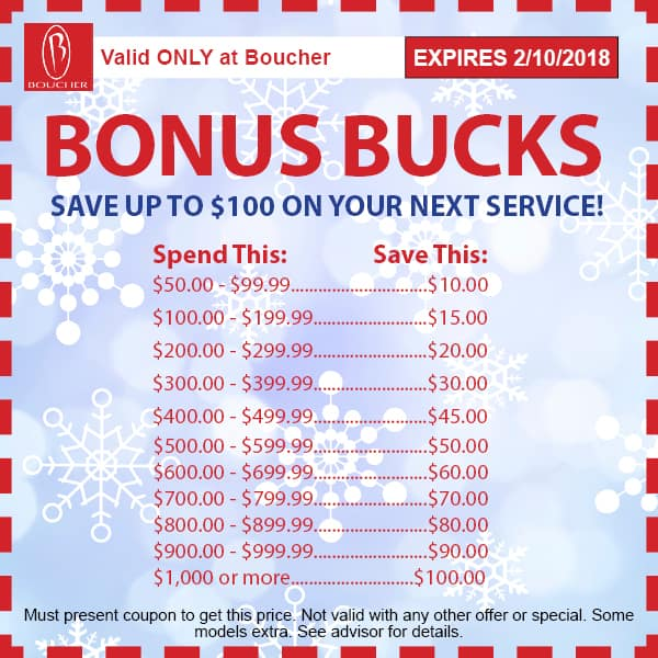 Service Coupons January 2018 Milwaukee Wisconsin