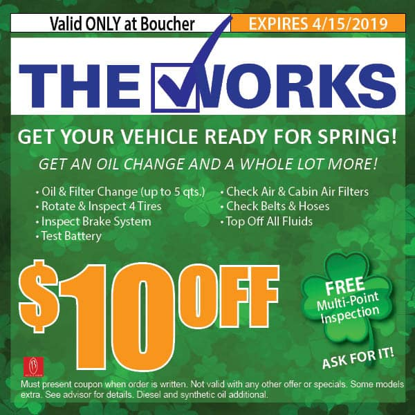 Service Coupons March 2019 Milwaukee Wisconsin