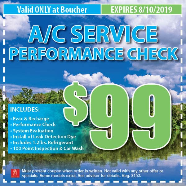 Service Coupons July 2019 Milwaukee Wi Boucher Auto Group