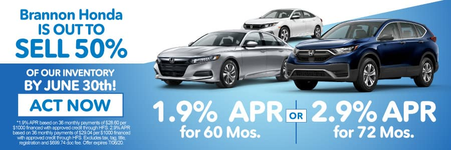 1.9% APR for 60 mos. or 2.9% APR for 72 mos. available - Shop Now