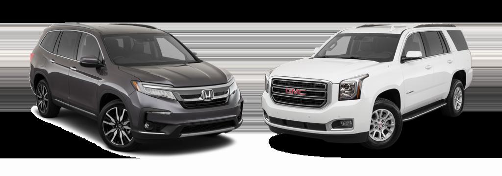 2019 Honda Pilot vs 2019 Yukon
