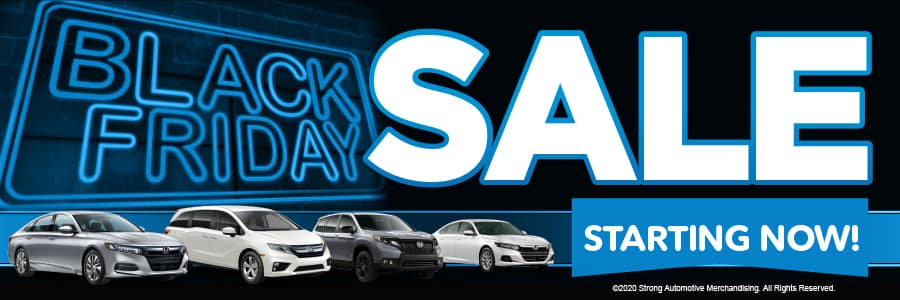 Brannon Honda's Black Friday Sale, Starting NOW!