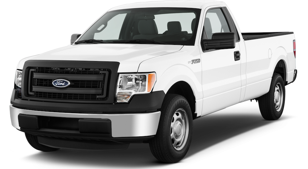 White Used Ford F-150