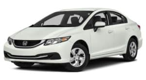 White Used Honda Civic