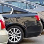 Cars in a row at dealer who accepts Bad Credit Car Finance Indianapolis