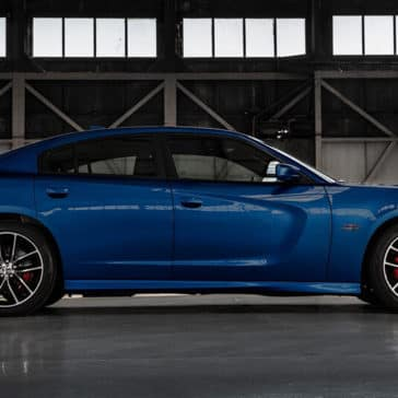 2018 Dodge Charger Side
