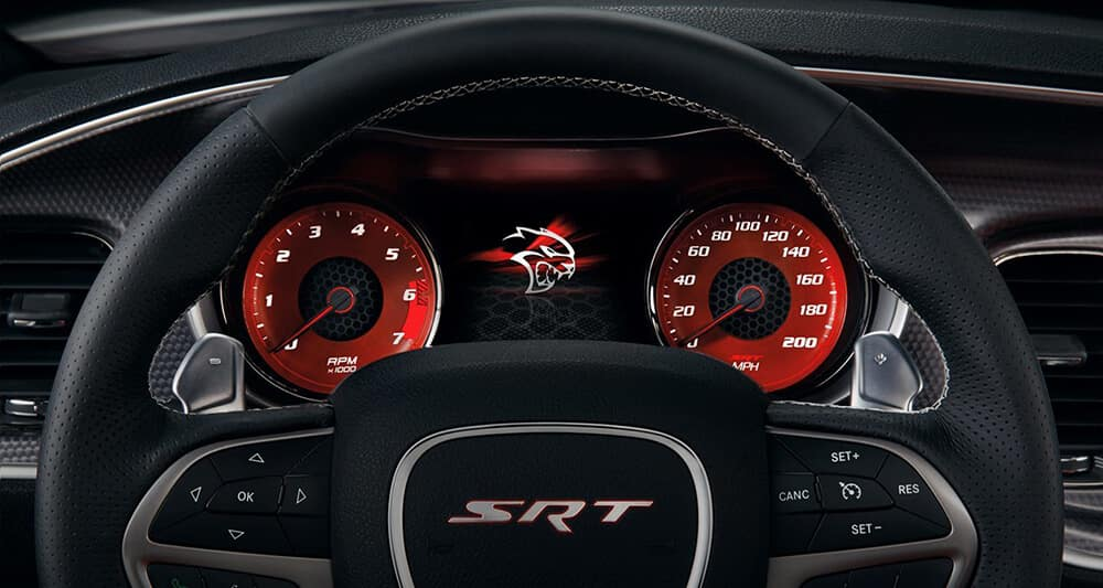 2018 Dodge Charger Steering Wheel