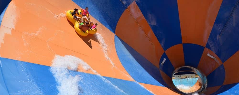 Giant tube water ride like the tornado_57330143