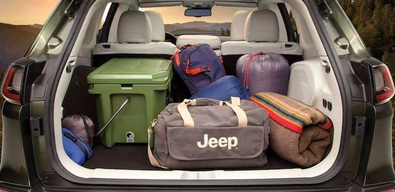 2019 Jeep Cherokee Interior Cargo Space