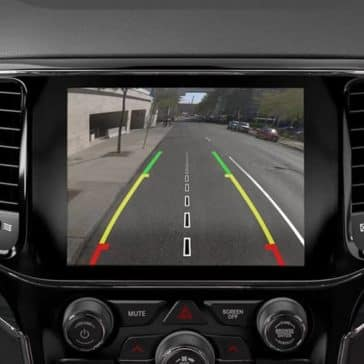 backup camera in 2019 Jeep Grand Cherokee