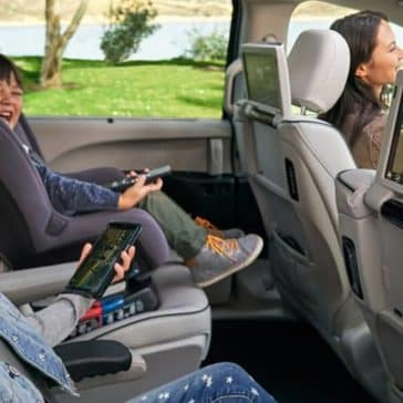 backseat entertainment in 2019 Chrysler Pacifica