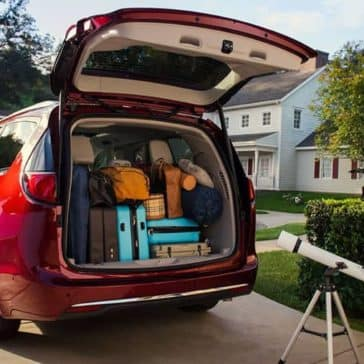 cargo space in 2019 Chrysler Pacifica