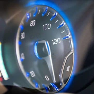 instrument display panel of 2019 Chrysler Pacifica