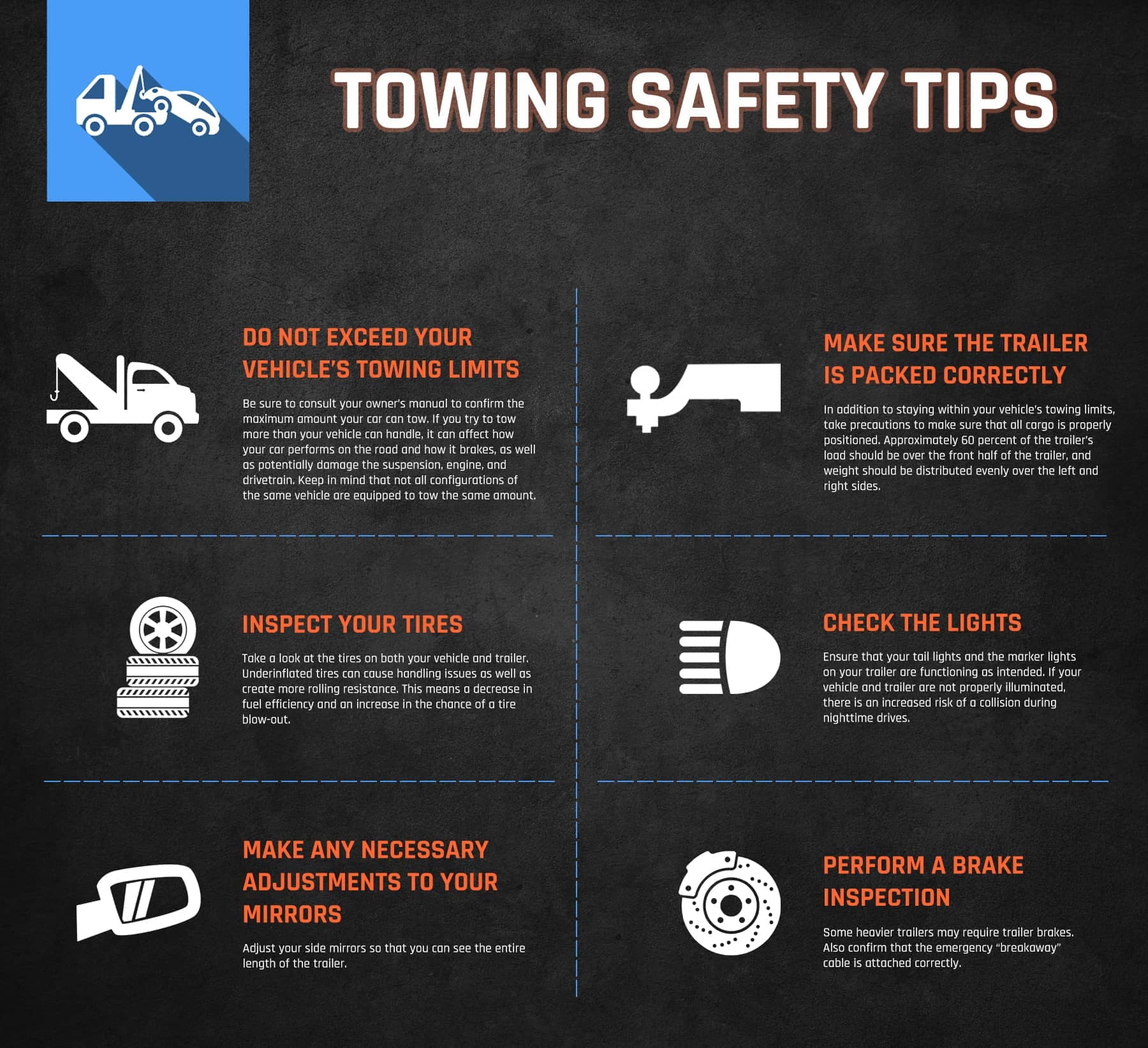 Towing Safety Tips