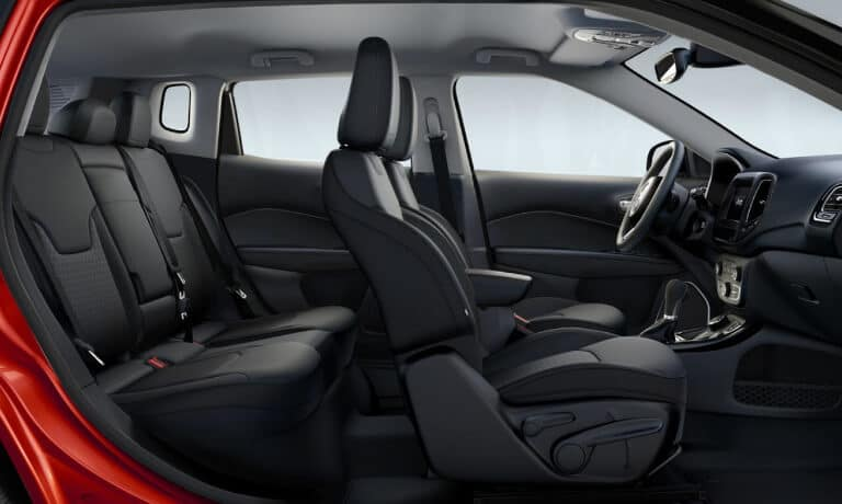 2019 Jeep Compass view of interior seating capacity