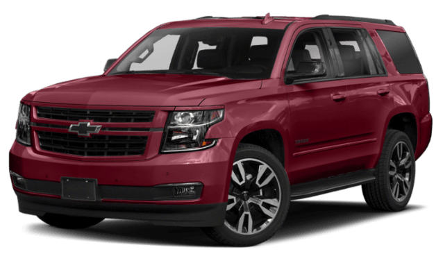 2019 Chevy Tahoe in Red