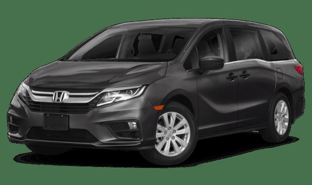 2019 Honda Odyssey in Gray 2