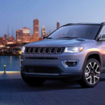 2019 Jeep Compass with City Skyline