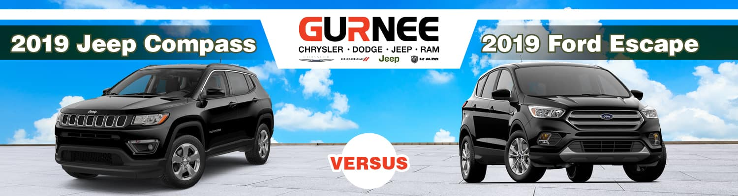 2019 Jeep Compass vs. 2019 Ford Escape