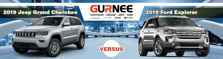 2019 Jeep Grand Cherokee vs Ford Explorer