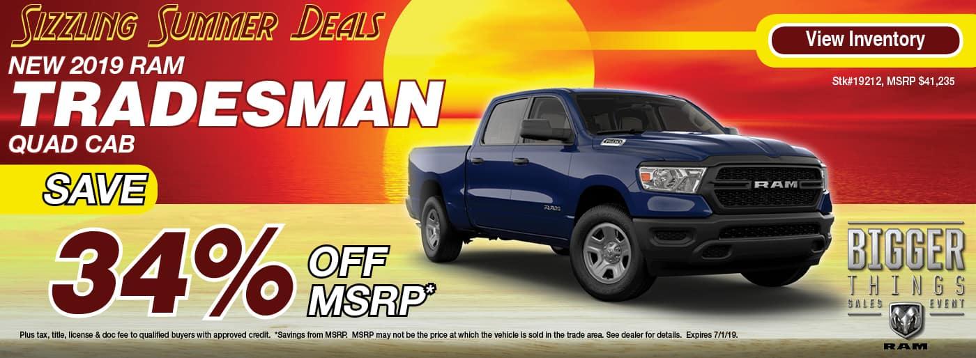 2019 RAM 1500 Tradesman
