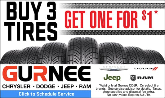 Buy 3 tires, get one free