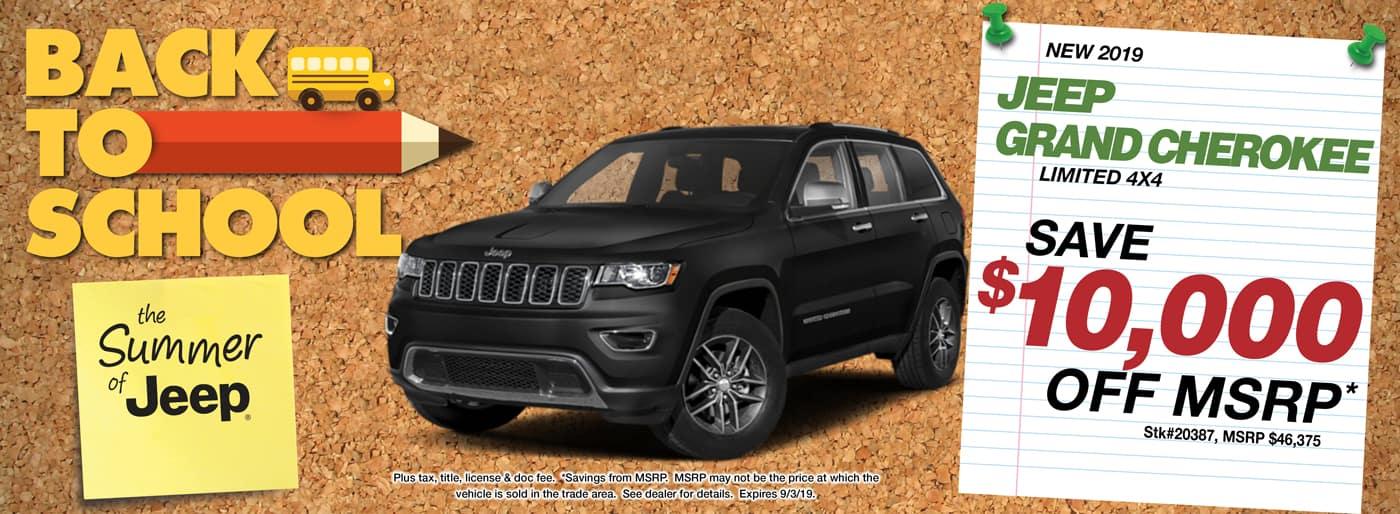 2019 Jeep Grand Cherokee Latitude