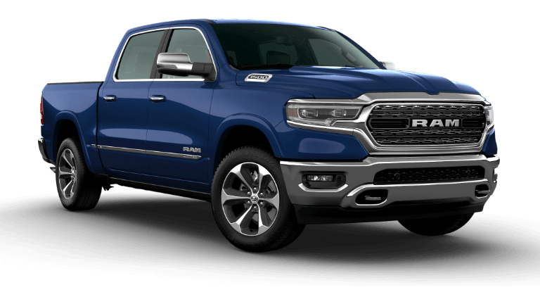 2020 Ram 1500 Limited Header Patriot Blue