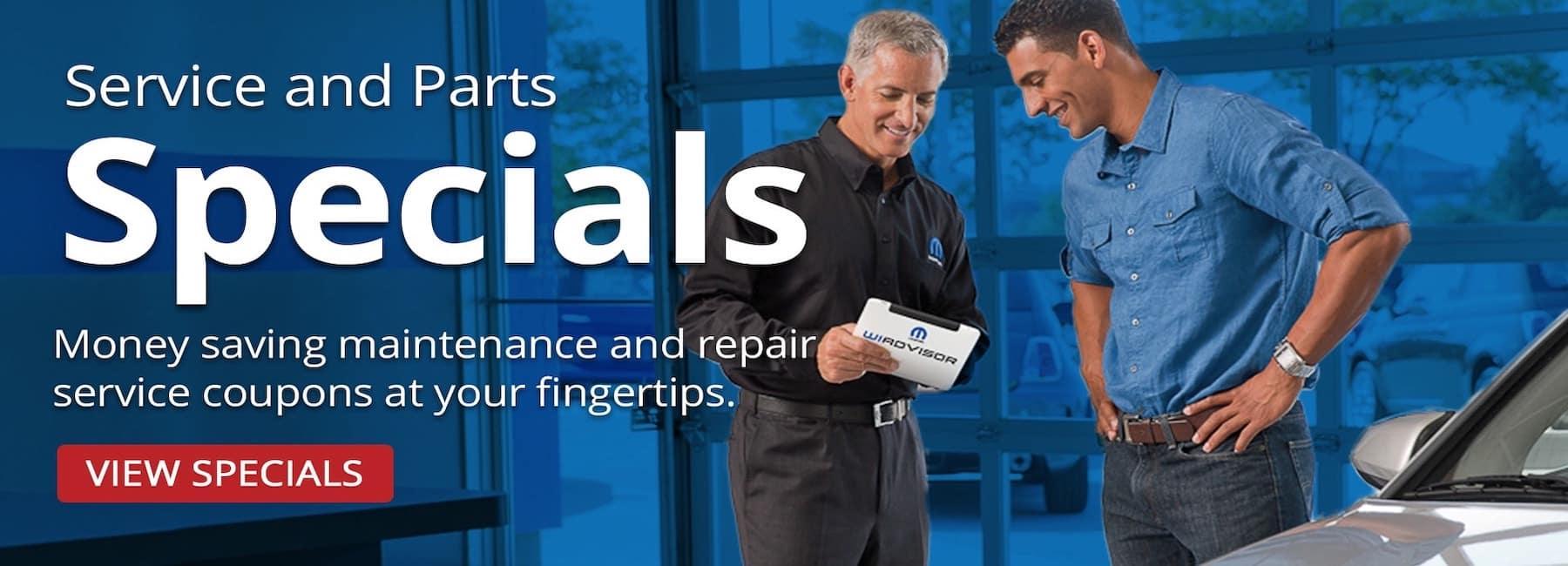 CDJR Service & Parts Specials