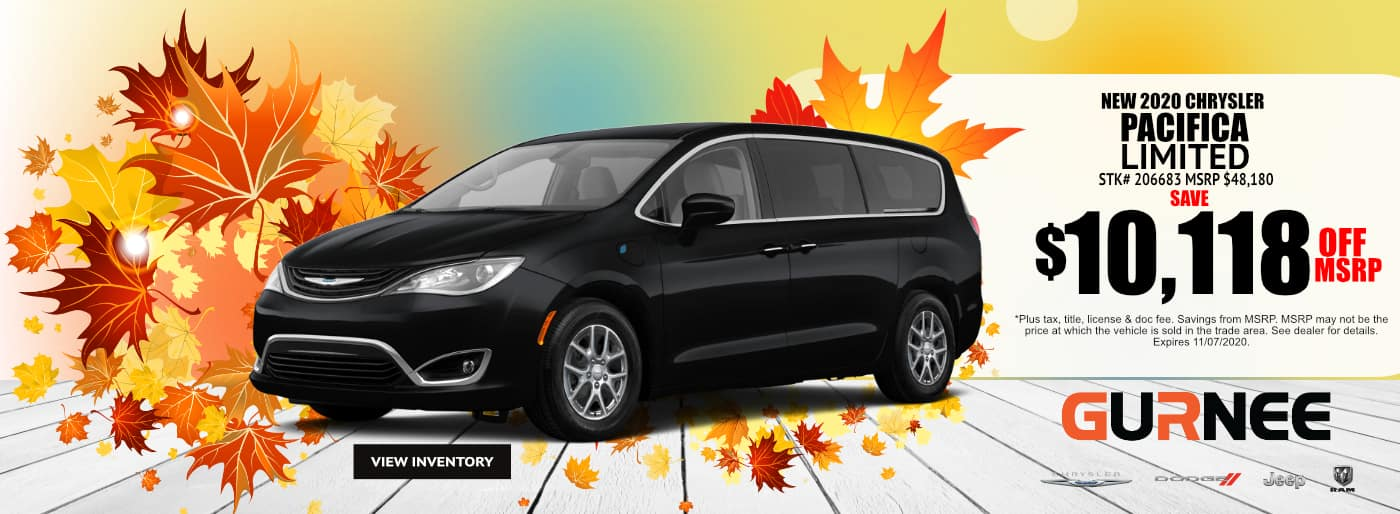October-2020-2021 Chrysler Pacifica Limited_Gurnee