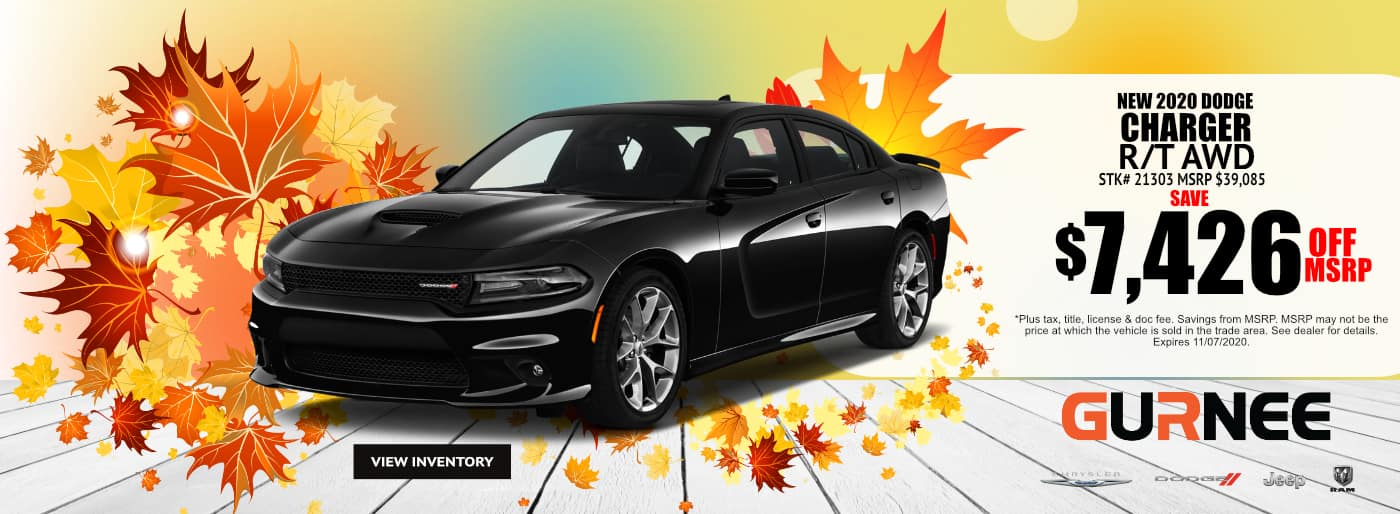 October-2020-2021 Dodge Charger_Gurnee