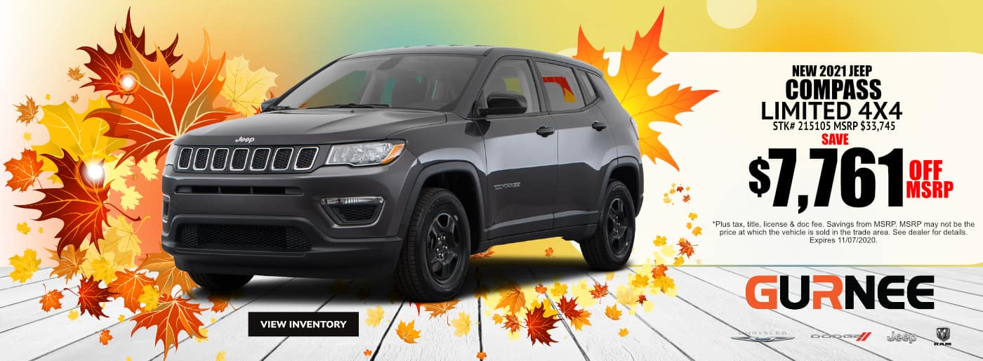 October-2020-2021 Jeep Compass_Gurnee