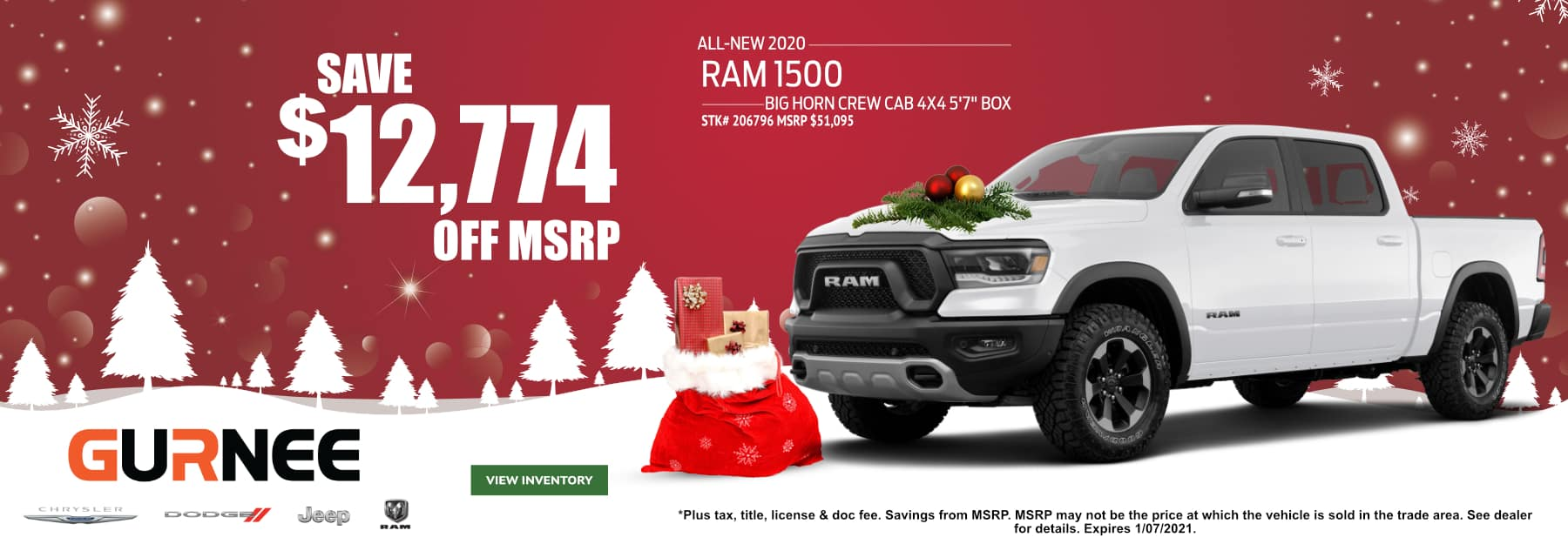 December-2020 Ram 1500_GURNEE