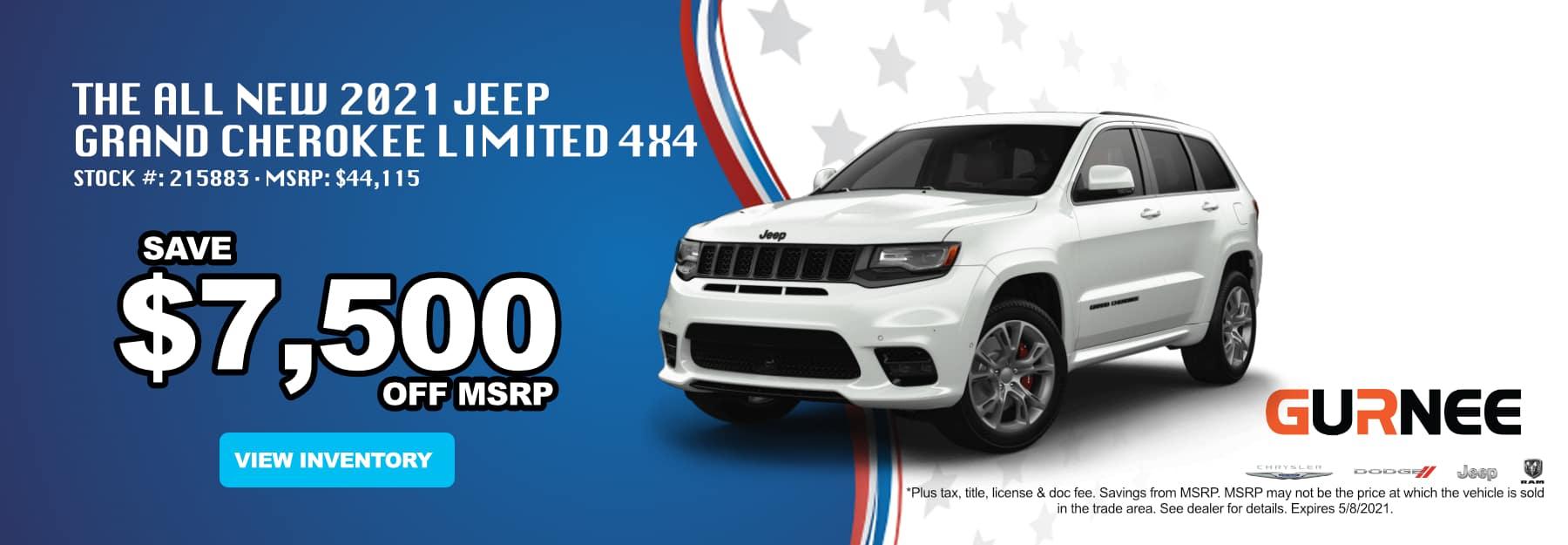 April_2021 Jeep Grand Cherokee_Gurnee