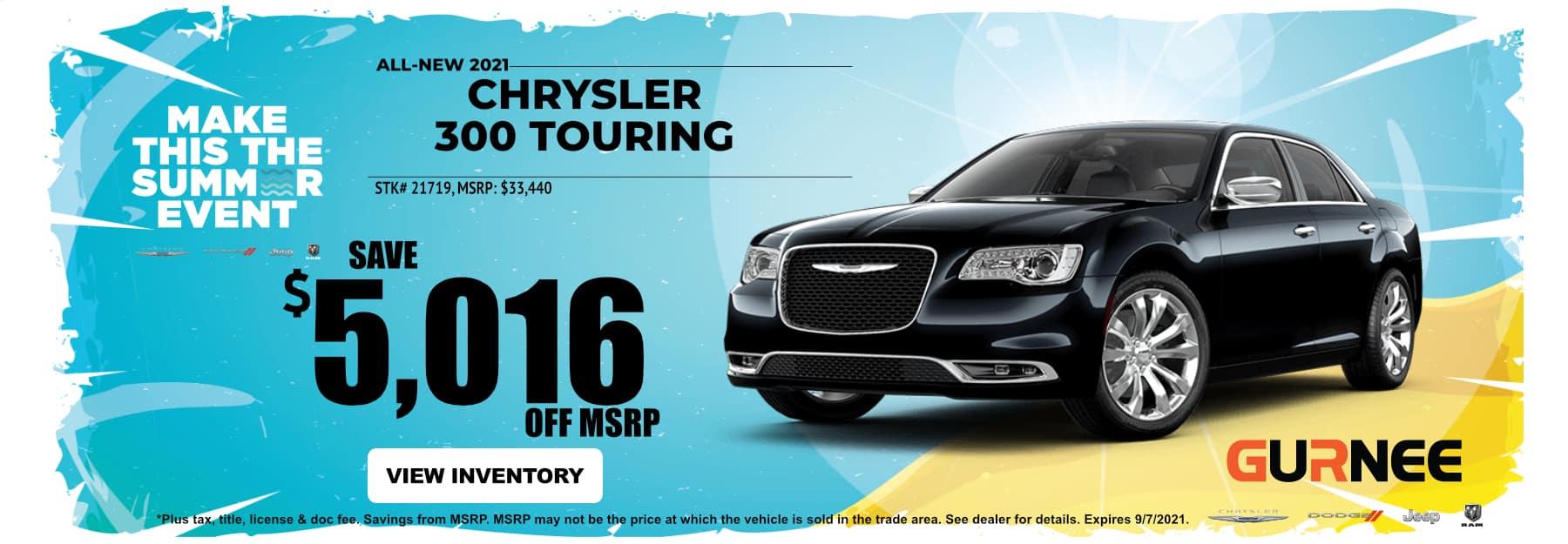 August_2021 Chrysler300 Gurnee
