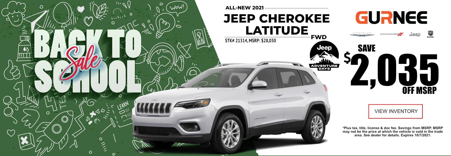 September_2021 Cherokee Gurnee