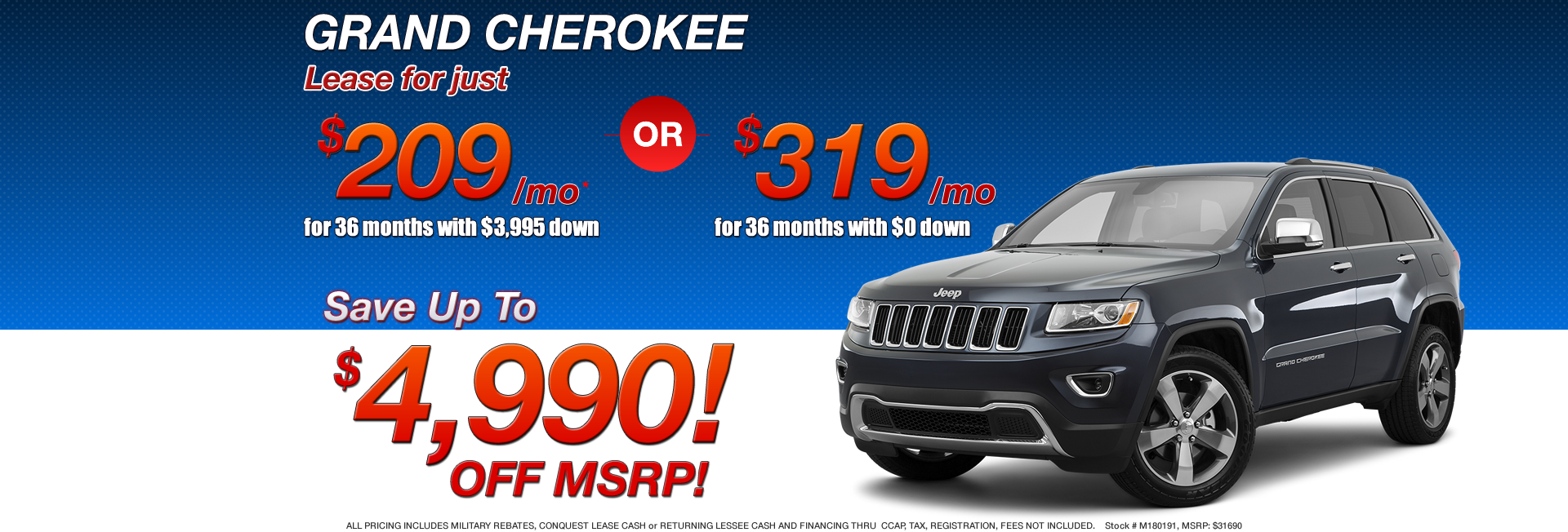 Chrysler Dodge Jeep Ram Lease Deals Ny Nj Autos Post