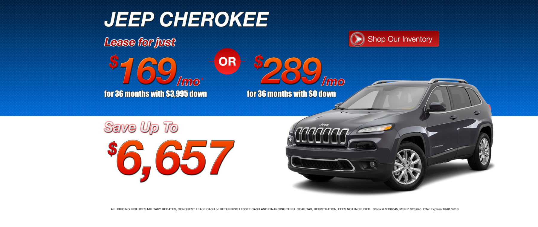 Best Jeep Cherokee Lease Deals in MA