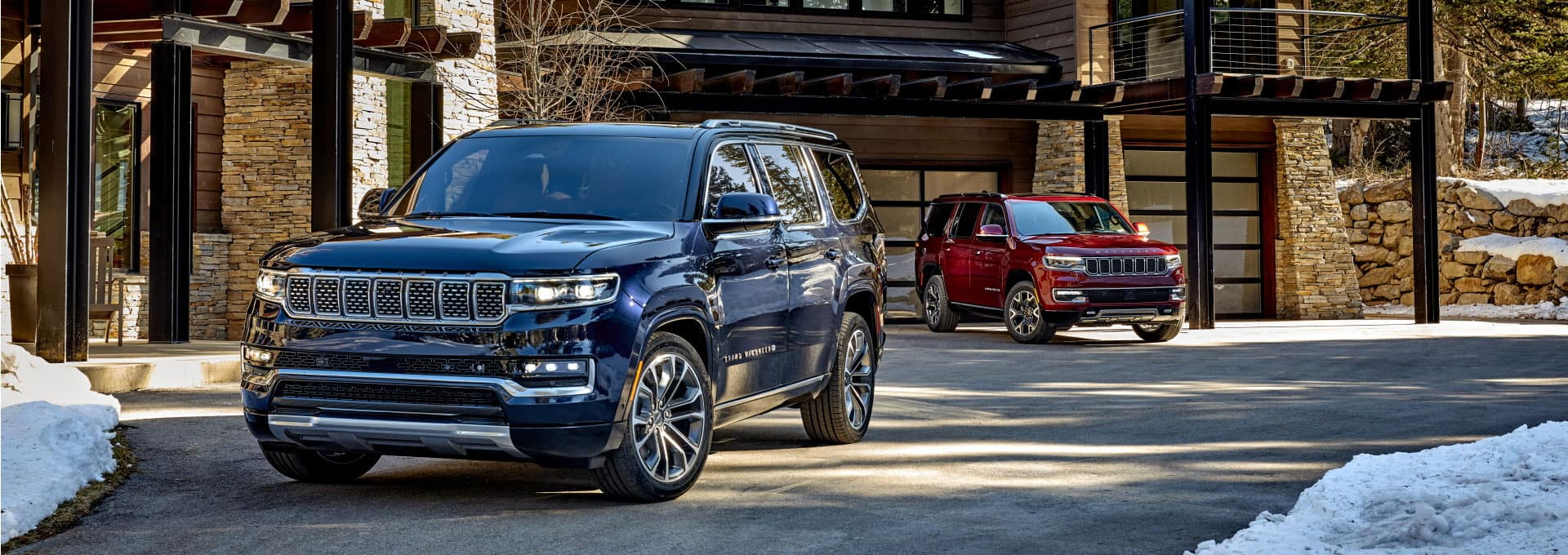 2022 Jeep Grand Wagoneer & 2022 Jeep Wagoneer