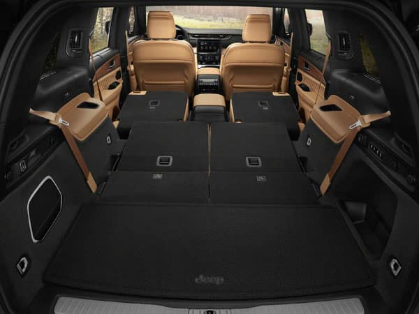 2021 Jeep Grand Cherokee L Cargo Space