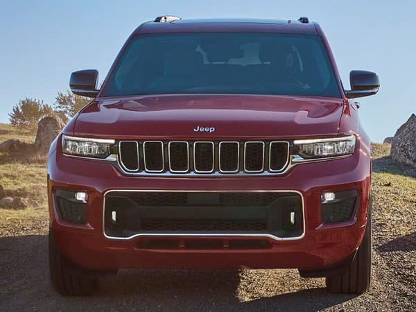 2021 Jeep Grand Cherokee L Front Grille