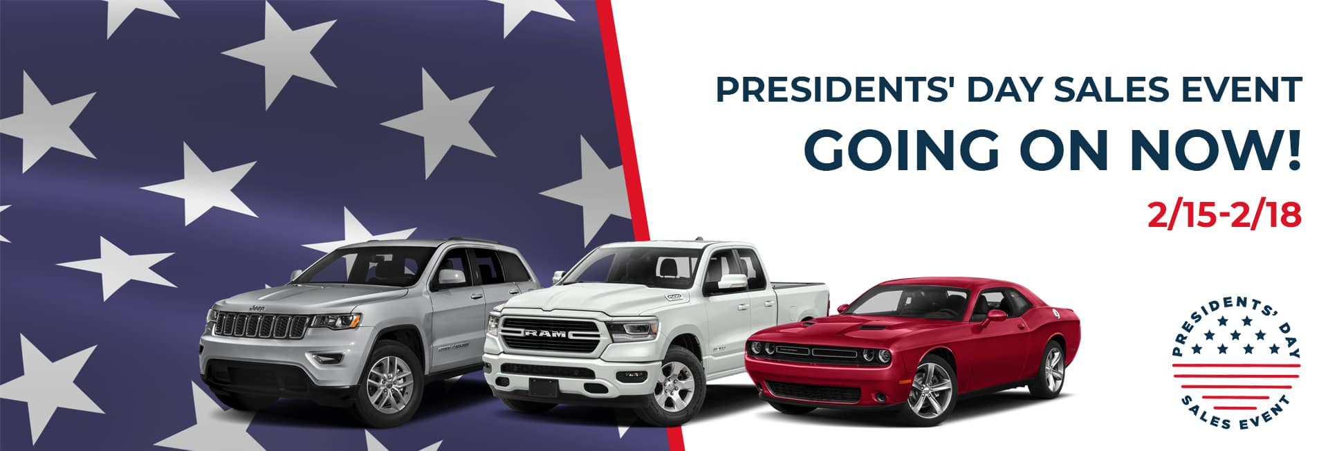 CDJR Norwood Presidents' Day Sales Event