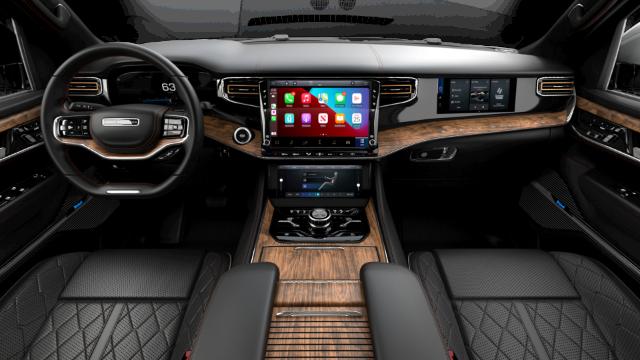 2022 Jeep Grand Wagoneer Series III Interior