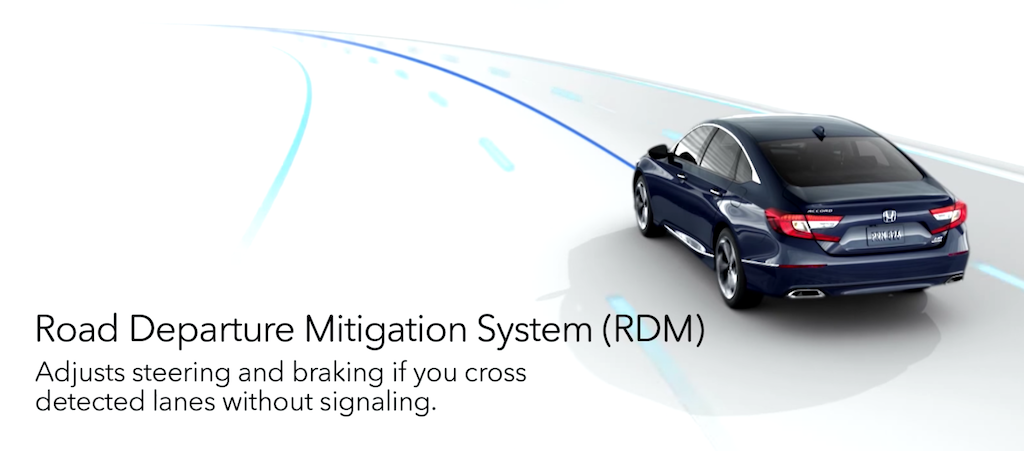 Road Departure Mitigation System
