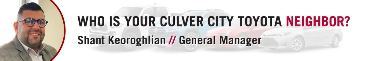 Heart City Toyota >> Meet Our General Manager Culver City Toyota
