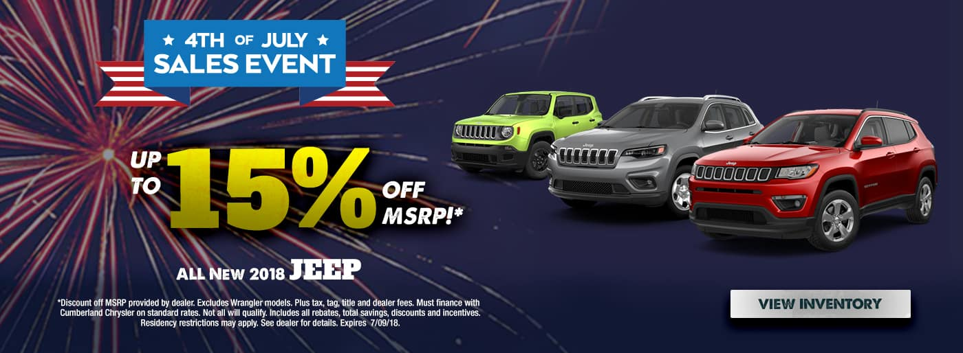 2018 Jeep Models Cookeville TN